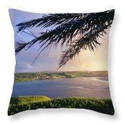 Guam, Pago Bay Throw Pillow