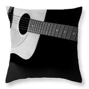 Guitar Instrument For Playing Music  Throw Pillow