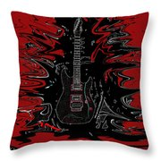Guitar Of Wonder  Throw Pillow