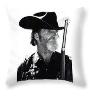 Gun Totting Tombstone Slim Helldorado Days Tombstone Arizona 1968 Throw Pillow