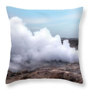Gunnuhver - Iceland Throw Pillow