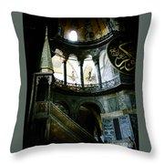 Hagia Sofia, Istanbul Throw Pillow