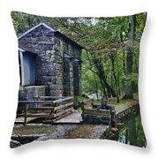 Hagley Museum Throw Pillow by John Greim