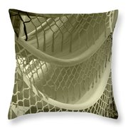 Hammocks In The Market Throw Pillow