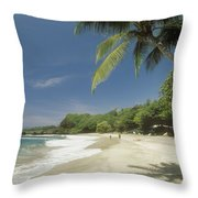 Hana Coast, Hamoa Beach Throw Pillow