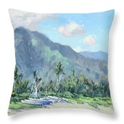 Hanalei Cats Throw Pillow