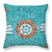 Hans Mosaic Throw Pillow