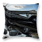Harley Davidson 16 Throw Pillow