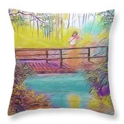 Harmany Throw Pillow