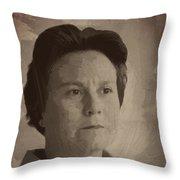 Harper Lee Throw Pillow