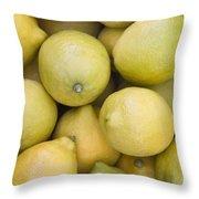 Harvested Lemons Throw Pillow