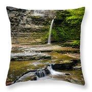Havana Glen's Eagle Falls Throw Pillow