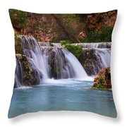Havasu Creek Grand Canyon 2 Throw Pillow