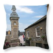 Hay-on-wye Throw Pillow