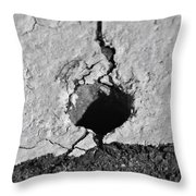 Heart Shadow 2 Throw Pillow