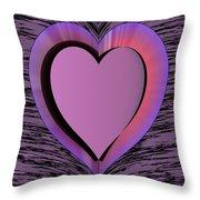 Heart Shape Throw Pillow