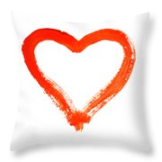 Heart - Symbol Of Love Throw Pillow