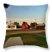 Heartland Heritage Museum.2 Throw Pillow