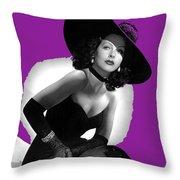 Hedy Lamarr C.1947-2013 Throw Pillow