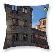 Heidelberg Castle Heidelberger Schloss Throw Pillow