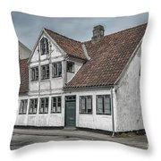Helsingor Old Building Throw Pillow