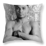 Henry Armstrong (1912-1988) Throw Pillow by Granger