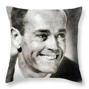 Henry Fonda, Hollywood Legend Throw Pillow