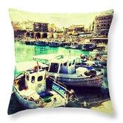Heraklion Throw Pillow