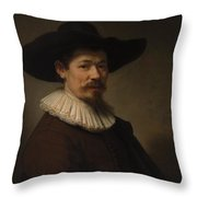 Herman Doomer Born About 1595 Died 1650 Throw Pillow