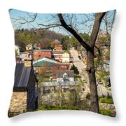 1-hermann Mo Triptych Left_dsc3992 Throw Pillow