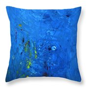 Higgs Disintegrating Throw Pillow