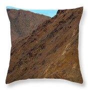 High Atlas Throw Pillow by Marion Galt