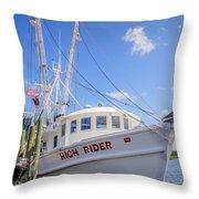 High Rider Throw Pillow
