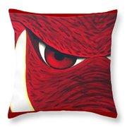 Hog Eyes 2 Throw Pillow