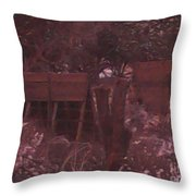 Hog House Throw Pillow