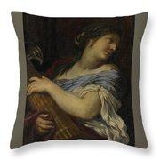 Holding A Fasces Throw Pillow