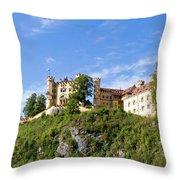 Holenschwangau Castle 2 Throw Pillow