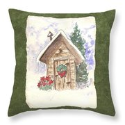 Holiday Best Throw Pillow