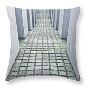 Holocaust Memorial Throw Pillow