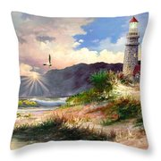 Home For The Night 3 Throw Pillow