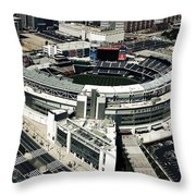 Home Of The Washington Nationals Throw Pillow