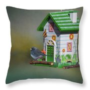 Home,sweet Home Throw Pillow