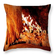 Hometown Series - Luray Caverns Throw Pillow