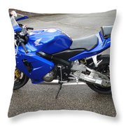 Honda Cbr600rr Throw Pillow