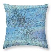 Honeycomb Glass Throw Pillow