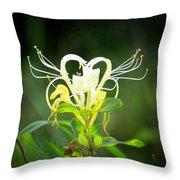 Honeysuckle Love Throw Pillow