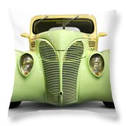 Hot Rod Ford Coupe 1938 Throw Pillow