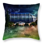 House In The Sky Throw Pillow