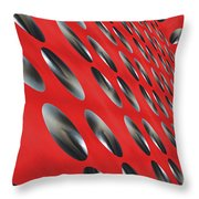 House Of Black Holes Throw Pillow