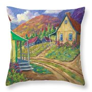 House Of Louis Throw Pillow